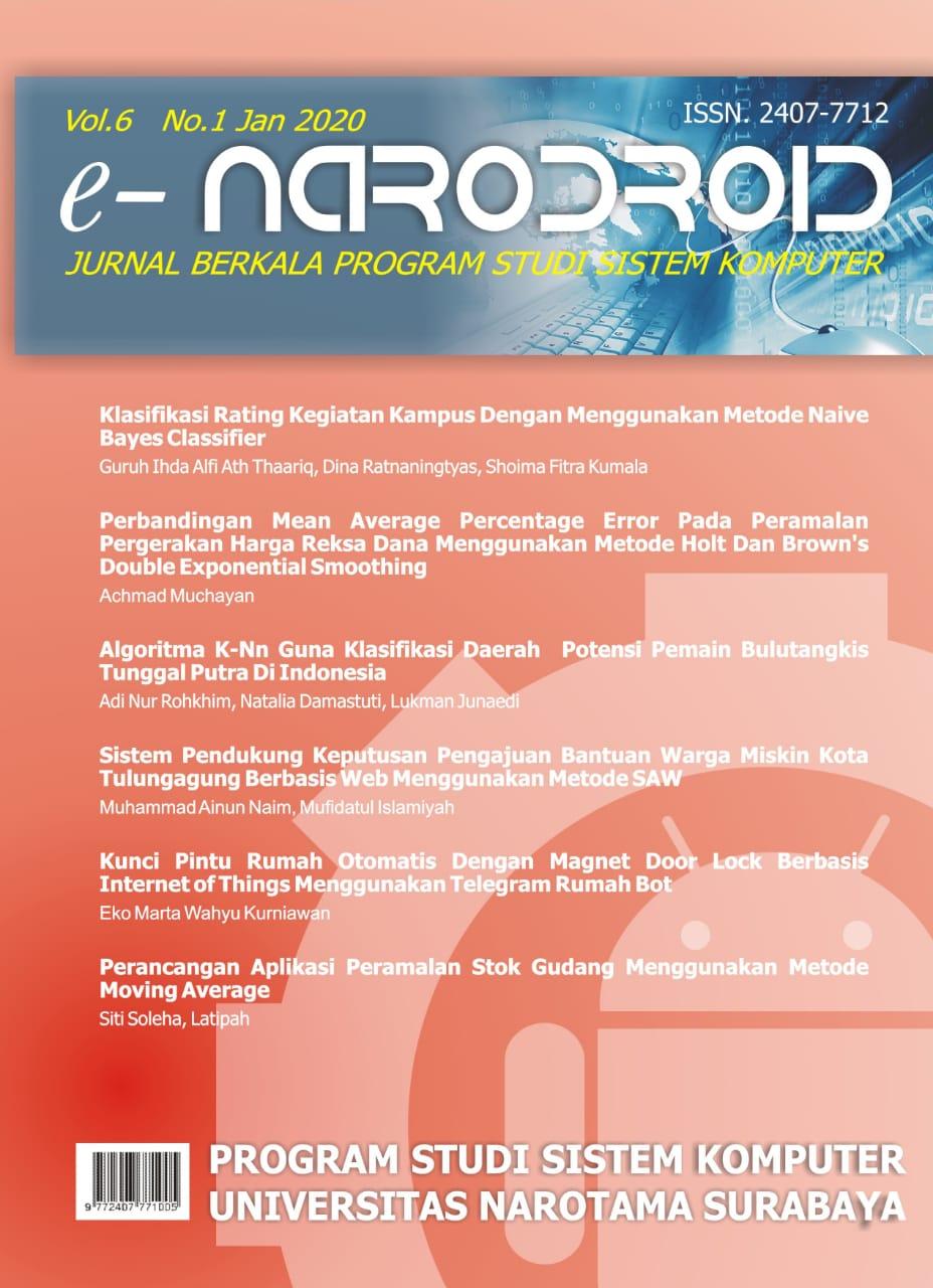 Cover Vol 6 No 1 2020