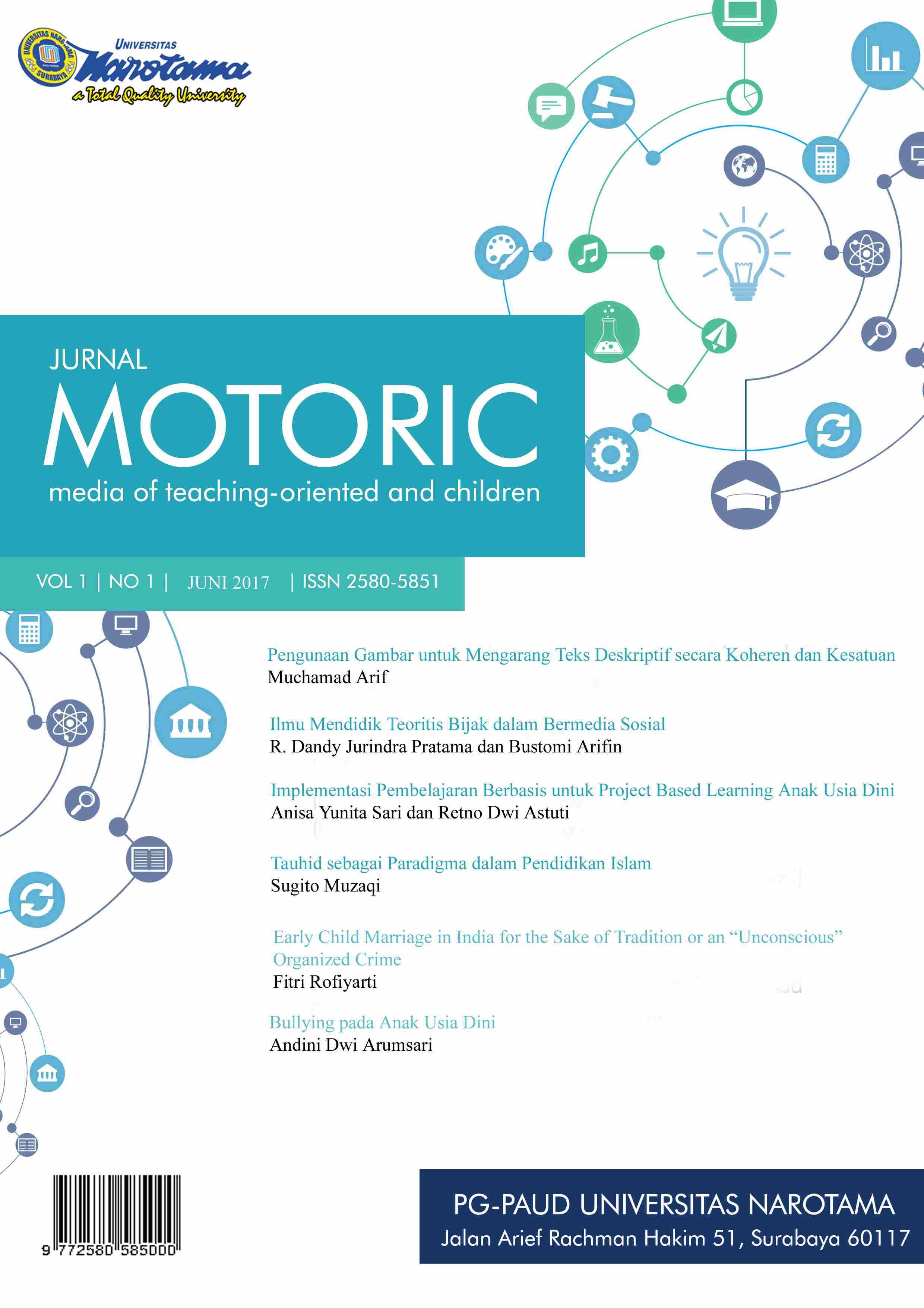 Motoric Vol 1 No 1 2017